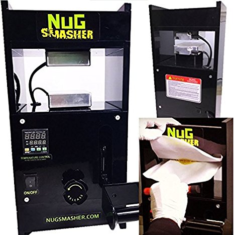 Nug smasher Automatic Personal Rosin Press